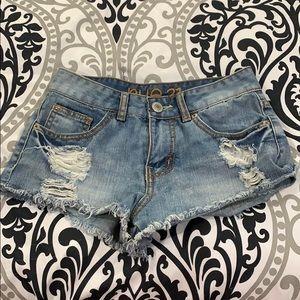 Size 0 Rue21 shorts